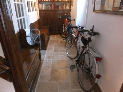Secure storage facilities for bicycles