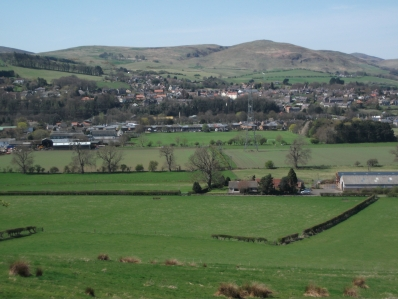Wooler in Northumberland